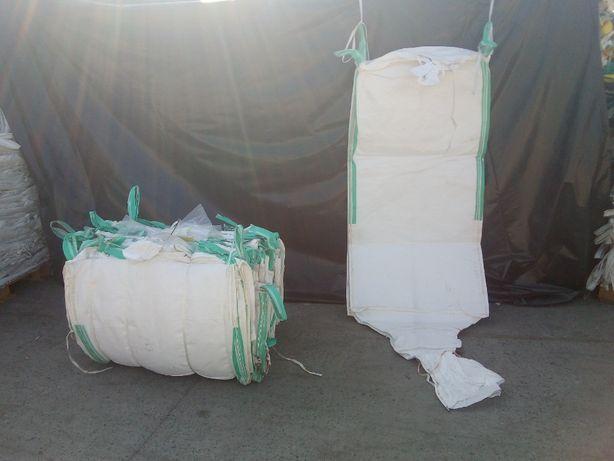 Worki big bag używane 95/95/120 cm złom,gruz,śmieci