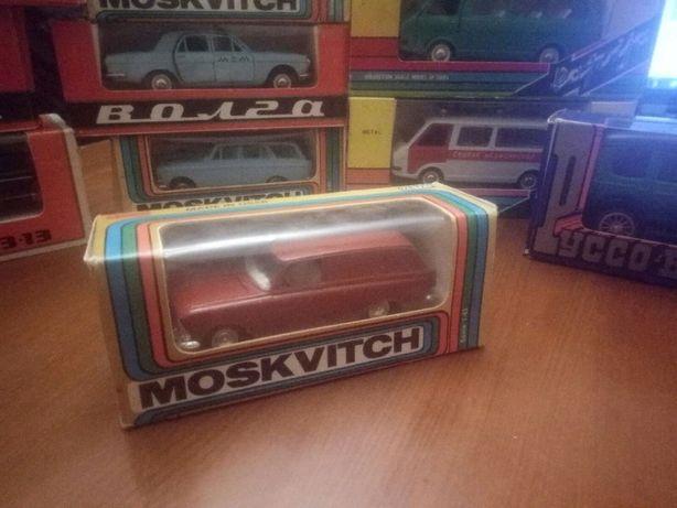 детская машинка Москвич 434 модель 1:43 металл СССР А6 в коробке
