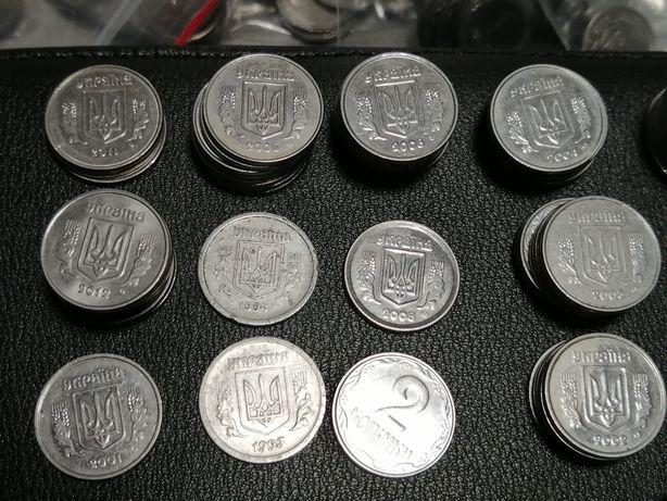 Монеты Украины разных годов
