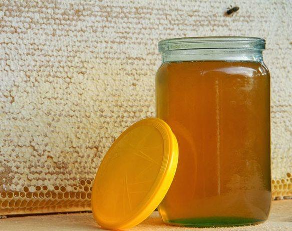 Мед подсолнечьный. Мед соняшниковий