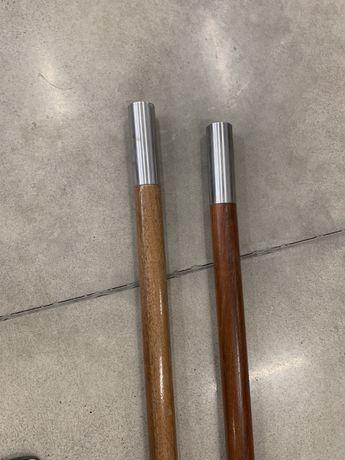 Poręcze drewniane Merbau