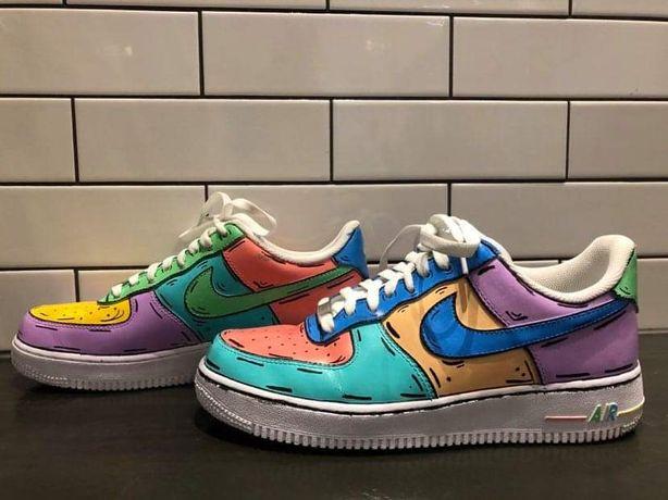 Custom butów np. nike air force 1/ air jordan 1/ nike blazer etc.