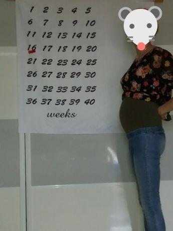 Plakat pamiątka materiał do robienia zdjęć dla kobiet w ciąży