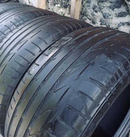 Bridgestone 225/50r17 пара лето резина шины б/у склад оригинал