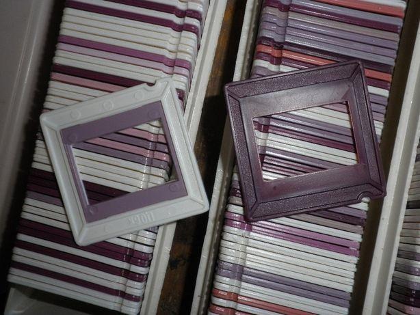 діапозитивні рамки, диапозитивные пластиковые и картонные
