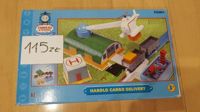 Tomek i Przyjaciele : zabawki ,lokomotywy, tory, wagoniki, stacje