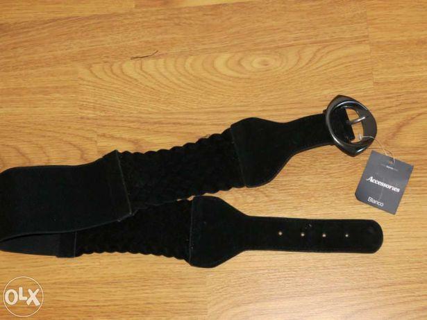Cinto preto camurça Blanco - com etiqueta original!