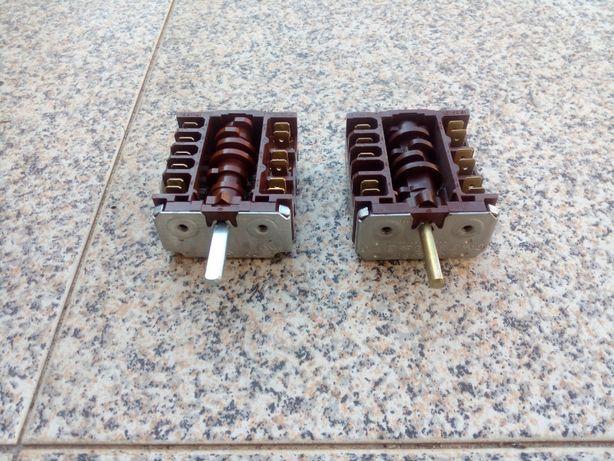 interruptor de fogão novo 5 pozicoes de terminais