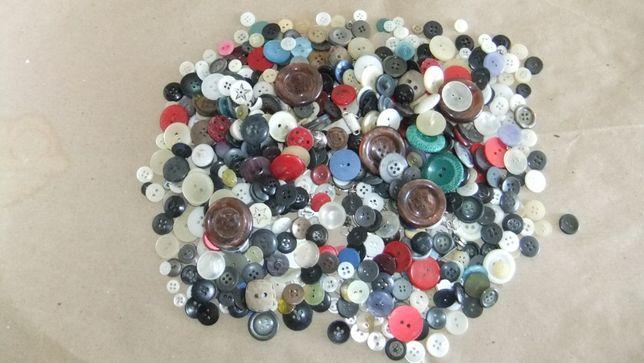 Conjunto variado de botões para costura (400 gr.)