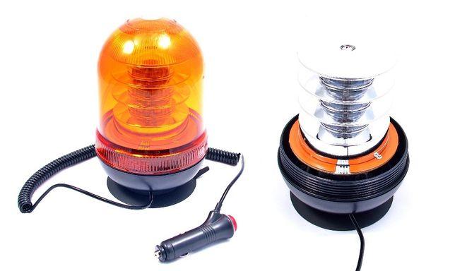 Kogut lampa ostrzegawcza 18 LED 54W ALR 12/24V