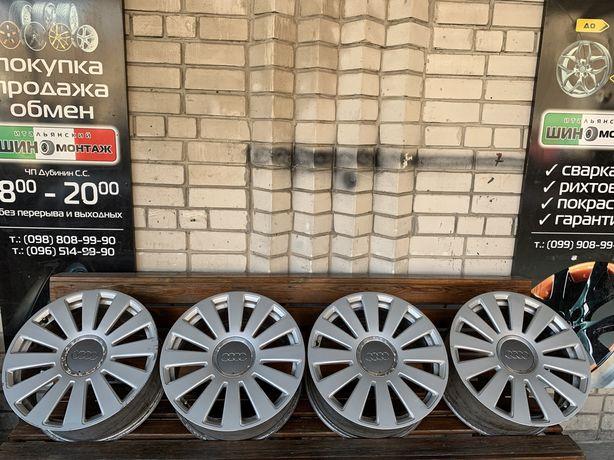 99 Немецкие оригинальные литые диски 5/112 R18 Audi