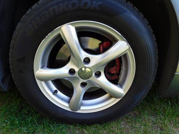 Okazyjnie 4szt opony Hankook zima 6mm 2012r 195/65 R15