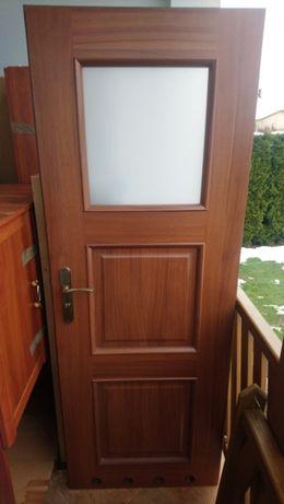 Drzwi wewnętrzne_Lewe skrzydło_Łazienka