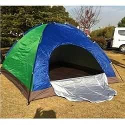 Палатка автомат (однослойная), 4х местная, намет туристичний