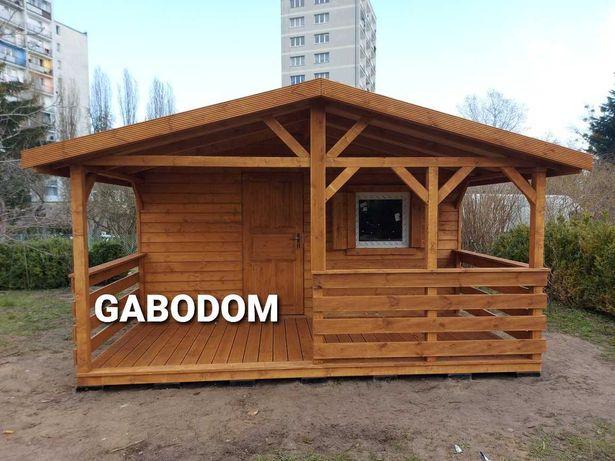 Domek drewniany 27m2 DINO letniskowy montaż dojazd w cenie domki
