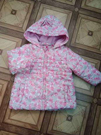 Курточка на дiвчинку