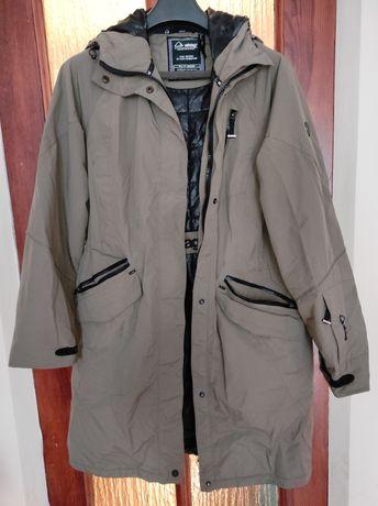 Płaszcz zimowy khaki L