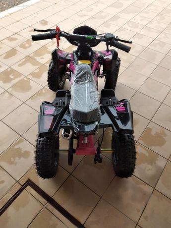Moto4 Gasolina 49cc para criança envio para todo o lado