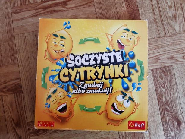 Soczyste Cytrynki, gra Trefl