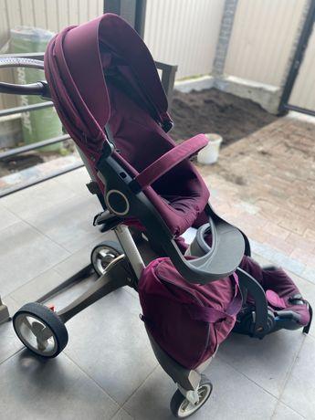 Продам коляску STOKKE v3 3 в 1