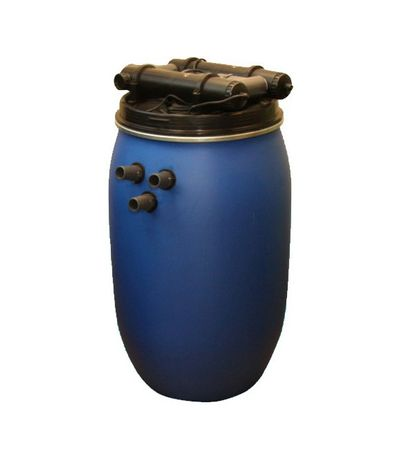 Filtr ciśnieniowy zewn. z lampą UVC 2x36W + pompa