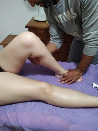 Massagista profissional e tecnico auxiliar de fisioterapia