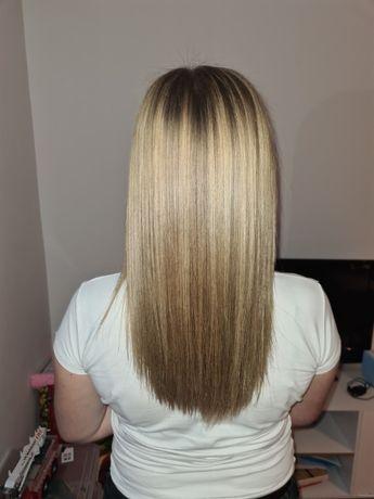 Prostowanie keratynowe włosów