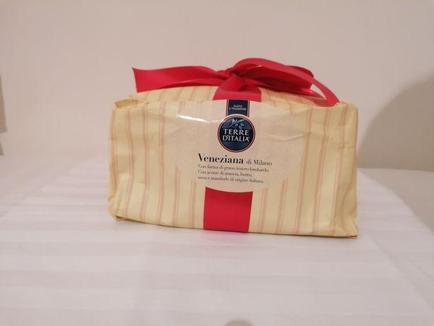 Кекс италийский подарочный Панеттоне Panettone 1 кг Панетон паска
