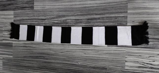 Szalik biało-czarny pasiak
