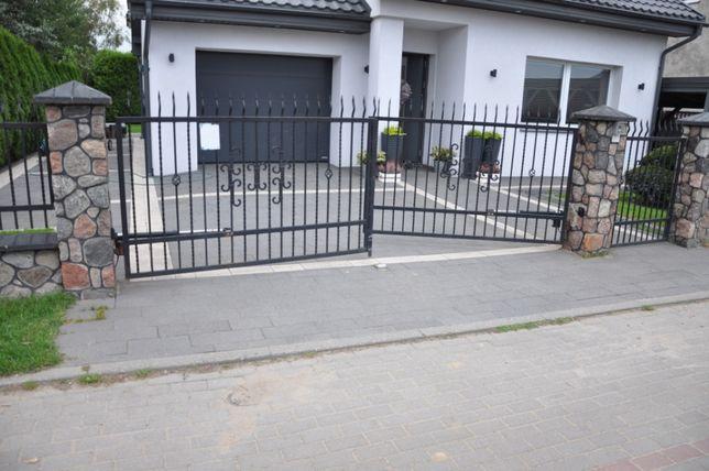 Ogrodzenie stalowe brama furtka przęsła