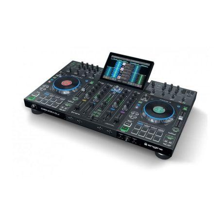 """Denon DJ PRIME 4 konsola kontroler DJ all-in-one 10"""" dotyk streaming"""