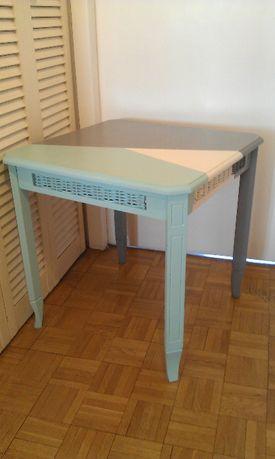 Stolik kawowy lub stolik dla dzieci, vintage PRL, po renowacji