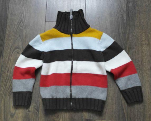 H&M sweterek w pasy 98 104