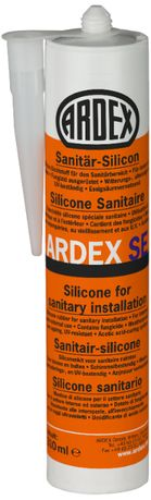Ardex SE Silikon sanitarny biały