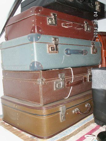 Stare walizki z PRL