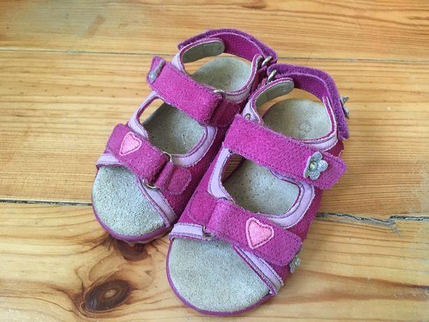 Sandały sandałki skórzane Billowy 23