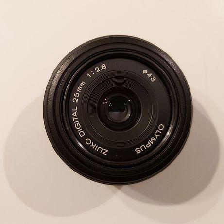 Obiektyw ZUIKO DIGITAL 25mm 1:2.8