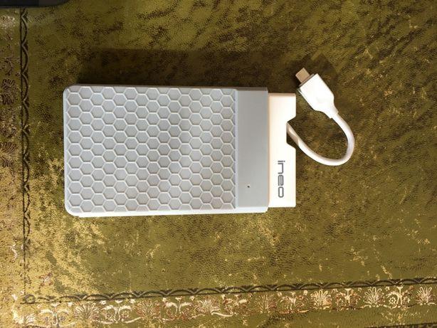 SSD Samsung 860 EVO de 500GB, em caixa USB-C INEO