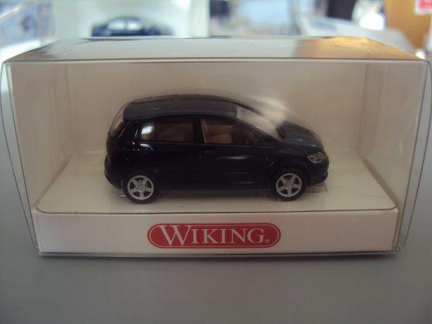 kolejka nowy model auta VW Golf Plus skala 1/87 H0 wiking nie piko