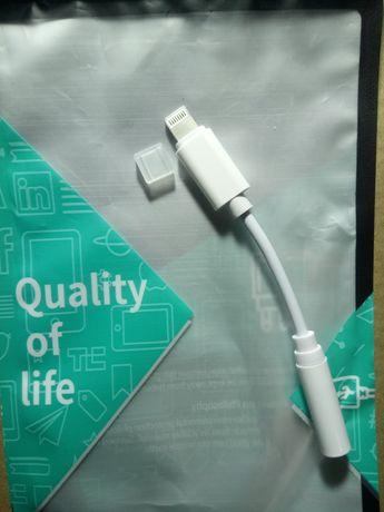 Якісний! Перехідник IPhone Apple Lightning to 3.5 mm
