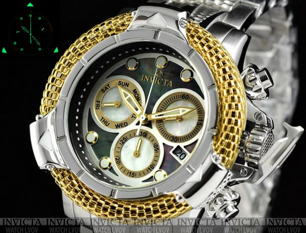 Часы Invicta 31544 Subaqua Poseidon AGE of EMPIRE Swiss Yellow Gold