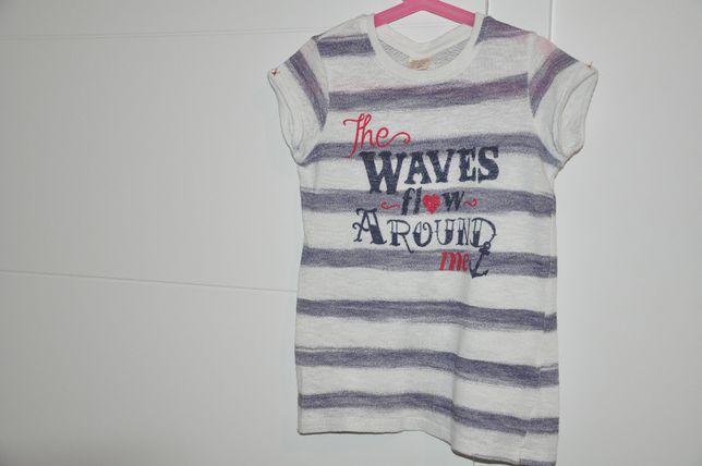 T-shirt dziewczęcy Zara rozm. 140