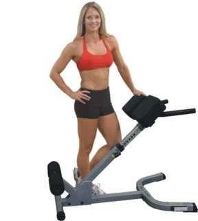Ławka do ćwiczeń brzucha i grzbietu Hyperextension 45° BODY-SOLID GHYP