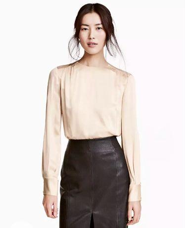 Новая блузка hm рубашка zara блуза офисная
