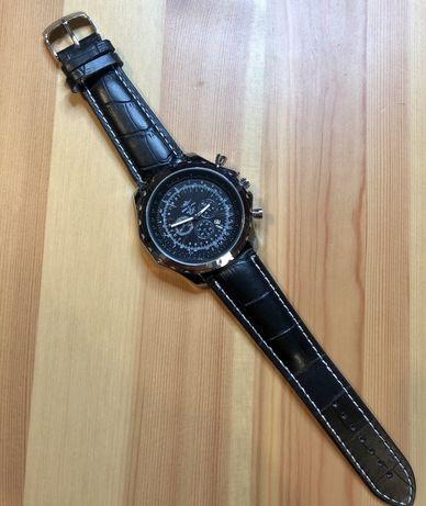 Zegarek meski Breitling for Bentley motor elegancki skórzany NOWY