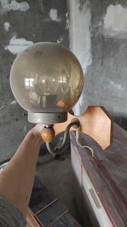 Настенный светильник. Шара