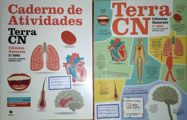 Livro de Ciências Naturais - Terra CN 9º ano