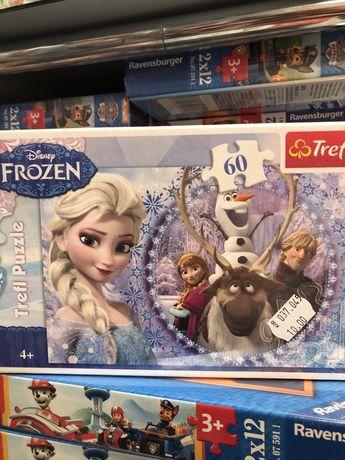 Frozen puzzle 60 elementów
