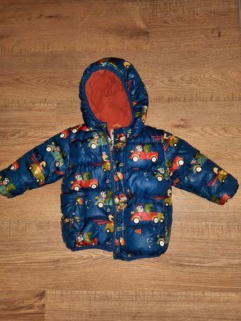 Теплая куртка Next (холодная осень/зима) 12-18м