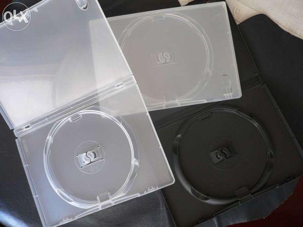 Caixas de DVD Amaray ( lotes de 25 ) 14mm